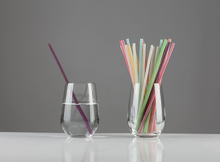 Colorful Edible Disposable Eco-friendly Rice Straw