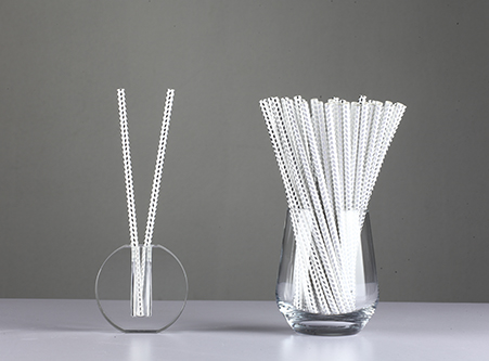 Colorful Silver Gold Paper Straws Biodegradable China