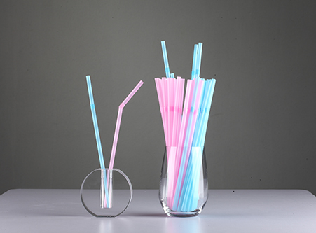 Eco Friendly Straw Mix Color Bent Straws Supplier China