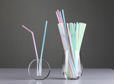 Bent Straw PLA Biodegradable Straws Custom Exporter China