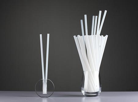 Bio PLA Drinking Straws Disposable Straight Straws