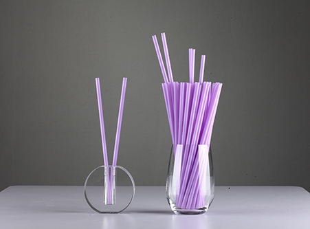 Online Straws Eco Friendly Purple Straight PLA Straws Factory