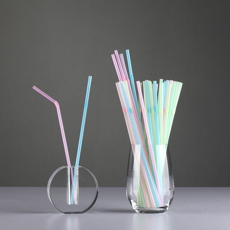 Bent Straw PLA Biodegradable Straws Custom Exporter China