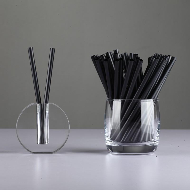 Wholesale Straws Black PLA Straws Manufacturer China