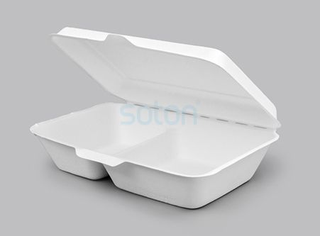 China Compostable Food Containers of Clamshell Box