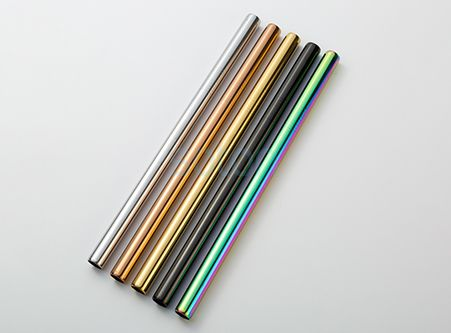 Reusable Colorful Straws Custom Wholesaler