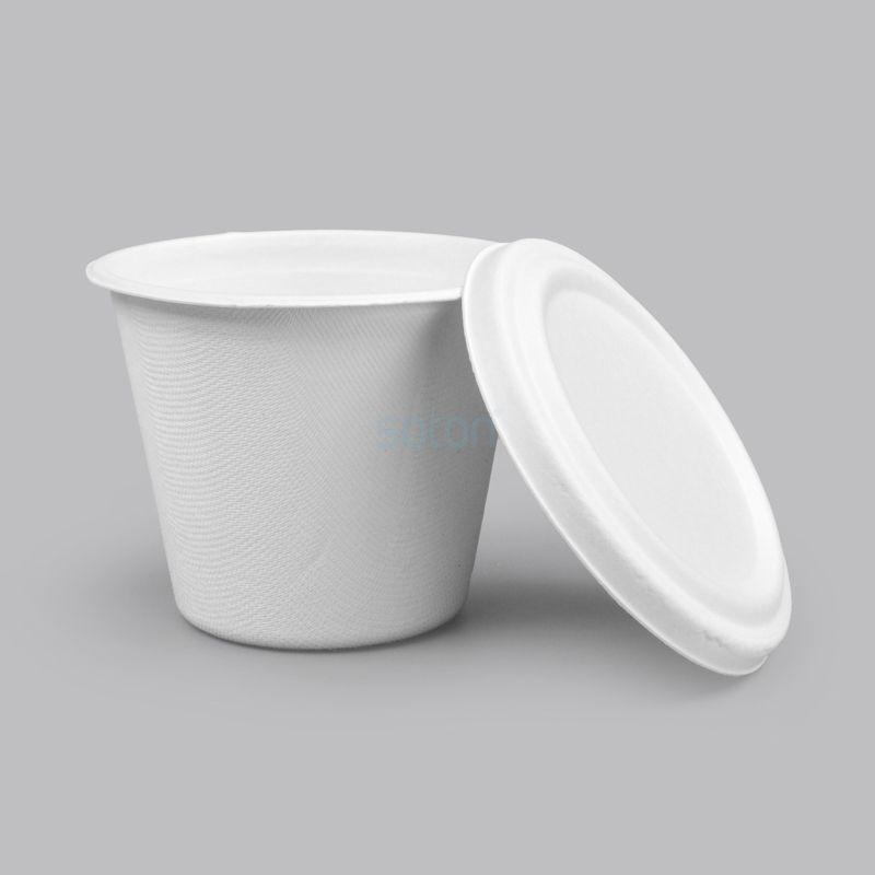 Wholesale Sugarcane Cups with Lid Disposable Products