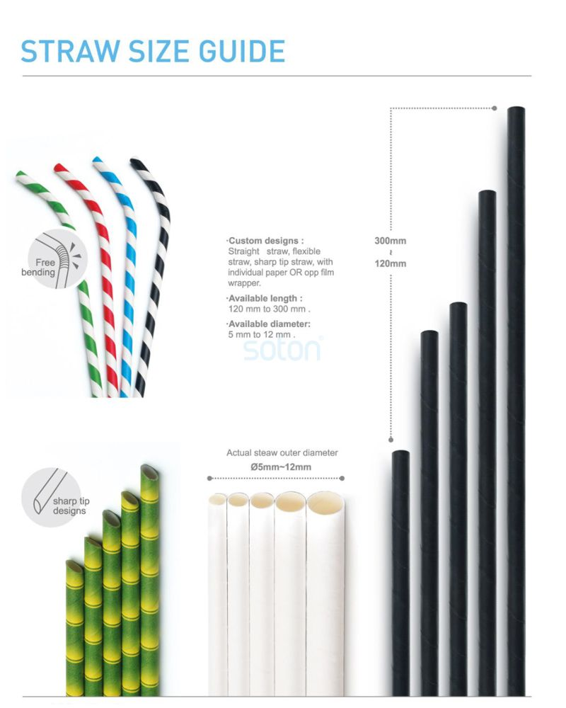 Manufacture Anchor Paper Straws Drinking